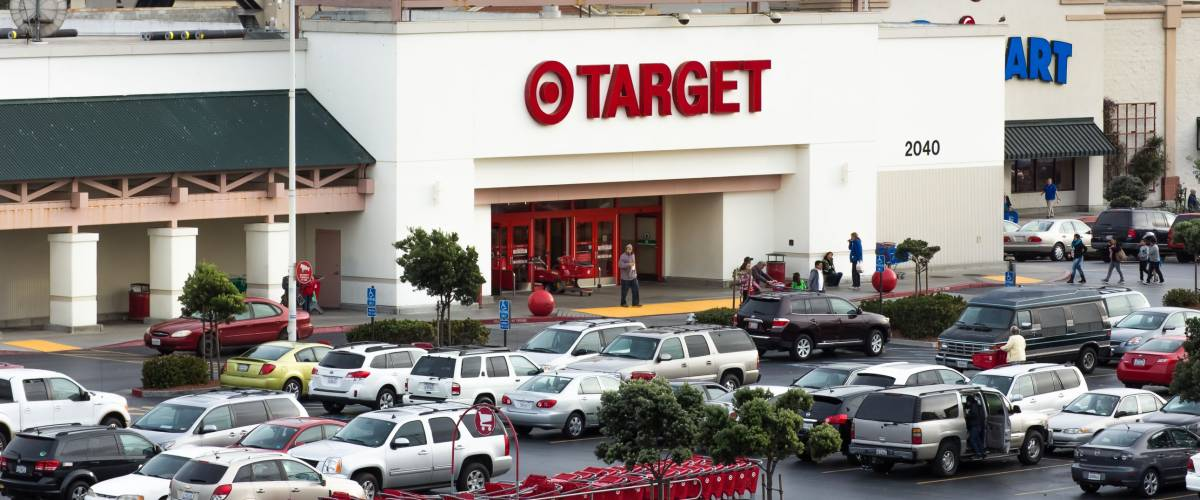 Target is a magnet for families