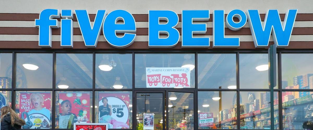 Five Below stores appeal to a young crowd