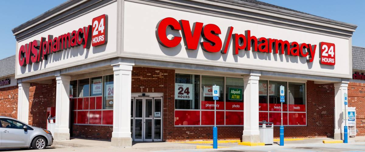c09e6a5cfef Anderson - Circa April 2018  CVS Pharmacy Retail Location. CVS is the  Largest Pharmacy