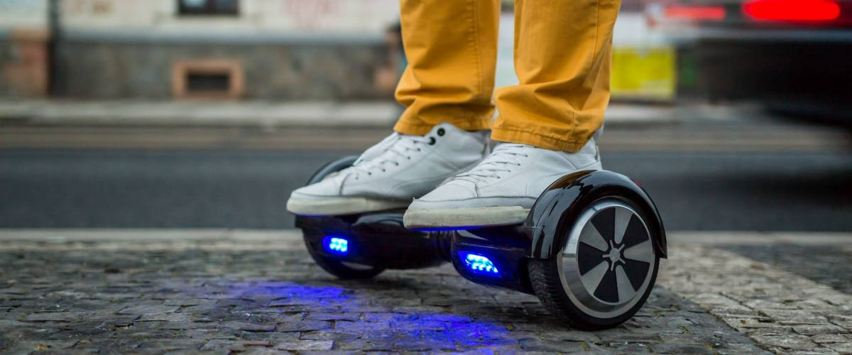 A hoverboard