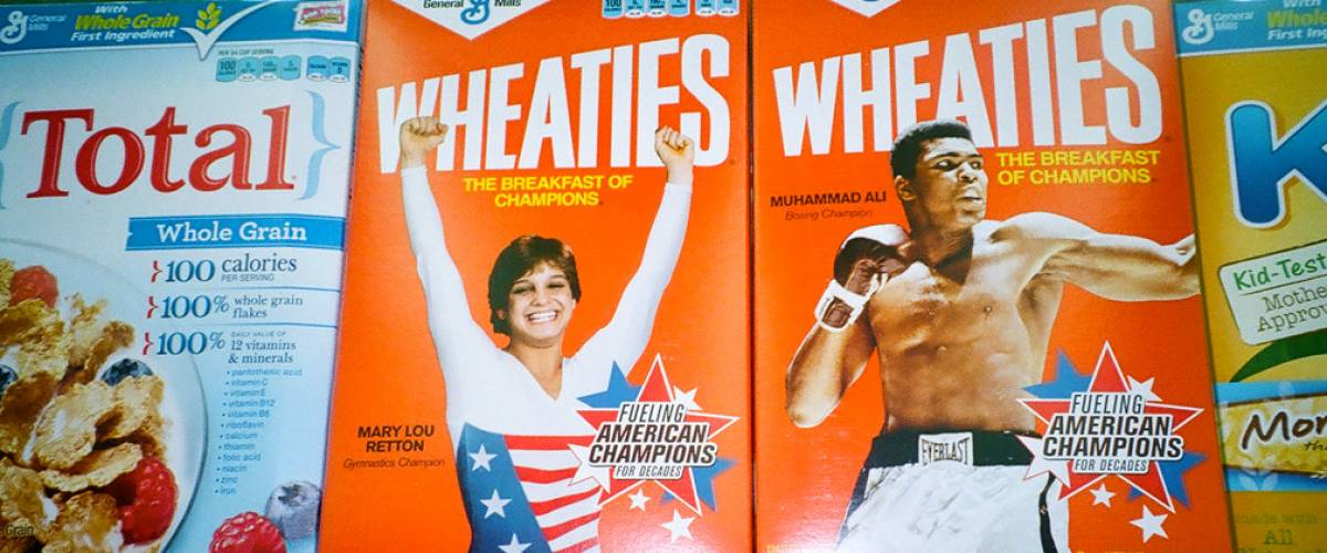 Wheaties, the one-time breakfast of champions