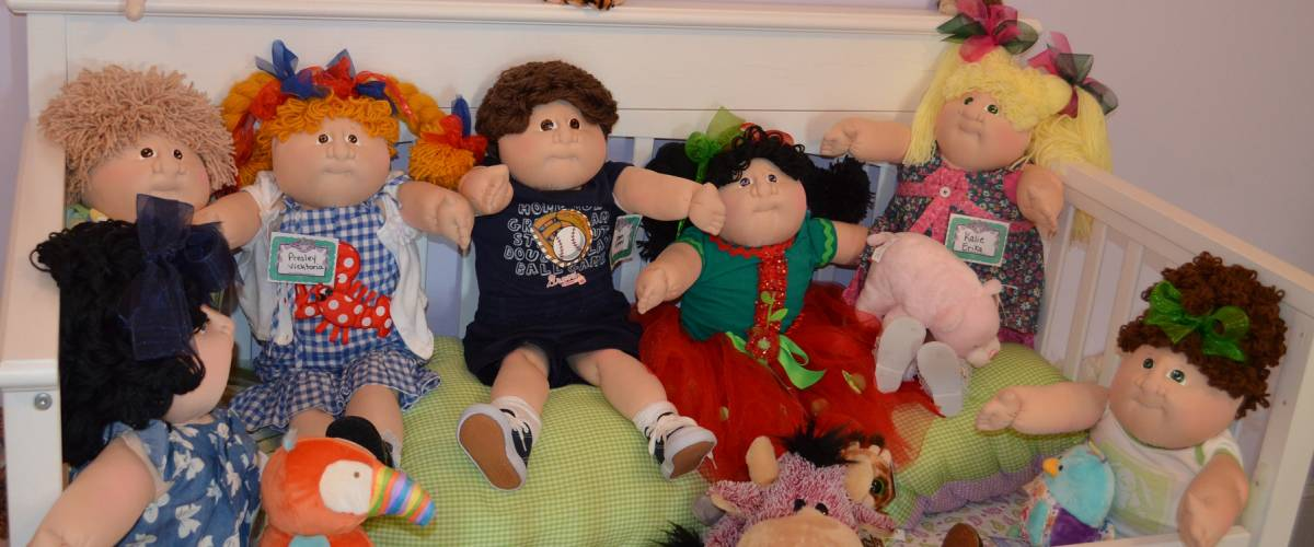 Cabbage Patch Kids photographed in 2013 in Cleveland, Georgia