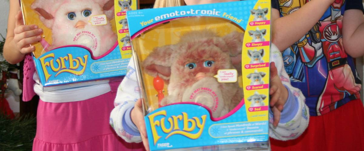 Attack of the Furby. Christmas Day, 2005