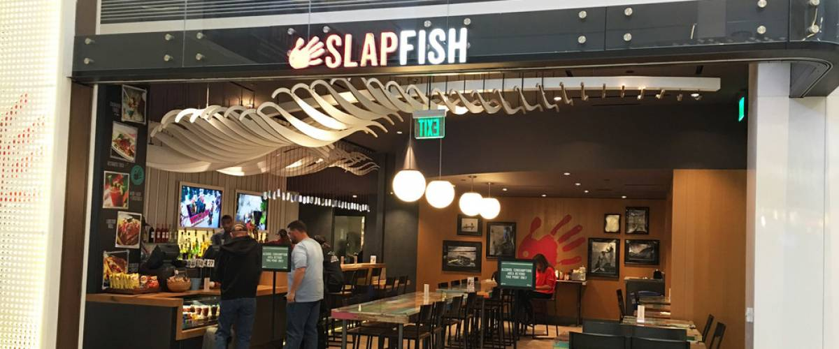 Slapfish location at Los Angeles International Airport