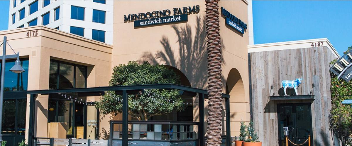 The Mendocino Farms restaurant in Irvine, California
