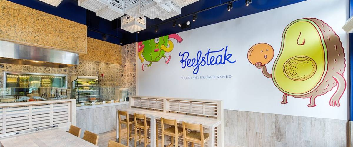 The Beefsteak restaurant in Washington, D.C.'s Dupont Circle area