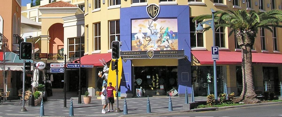 The last Warner Bros. Studio Store, in Queensland, Australia