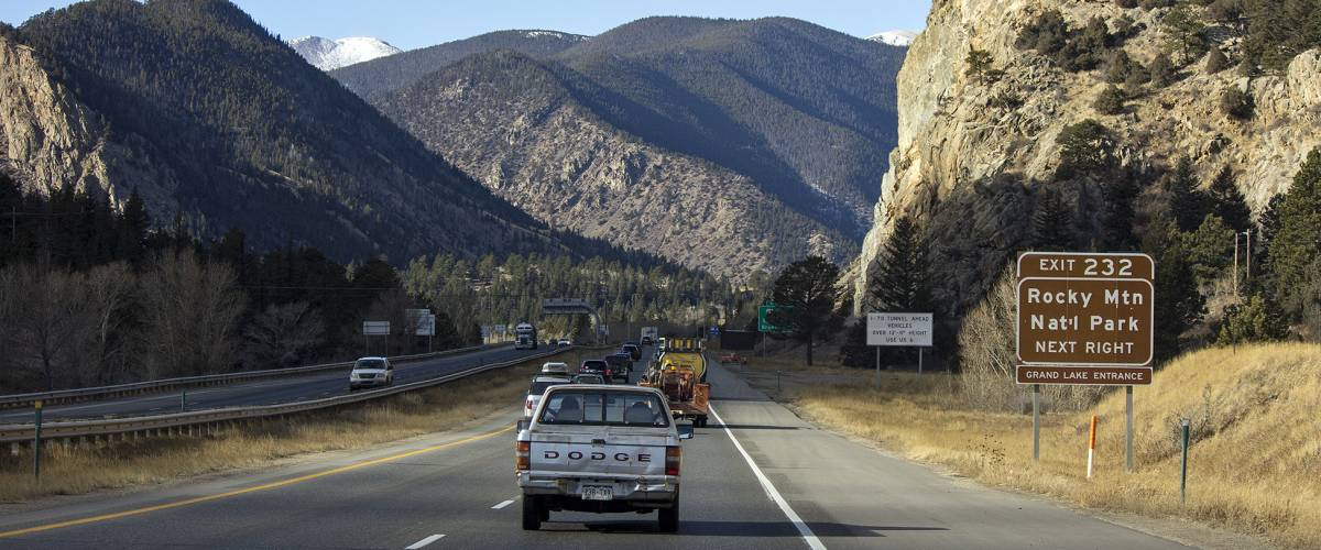 I-70 Eastbound Mountain Express Lane