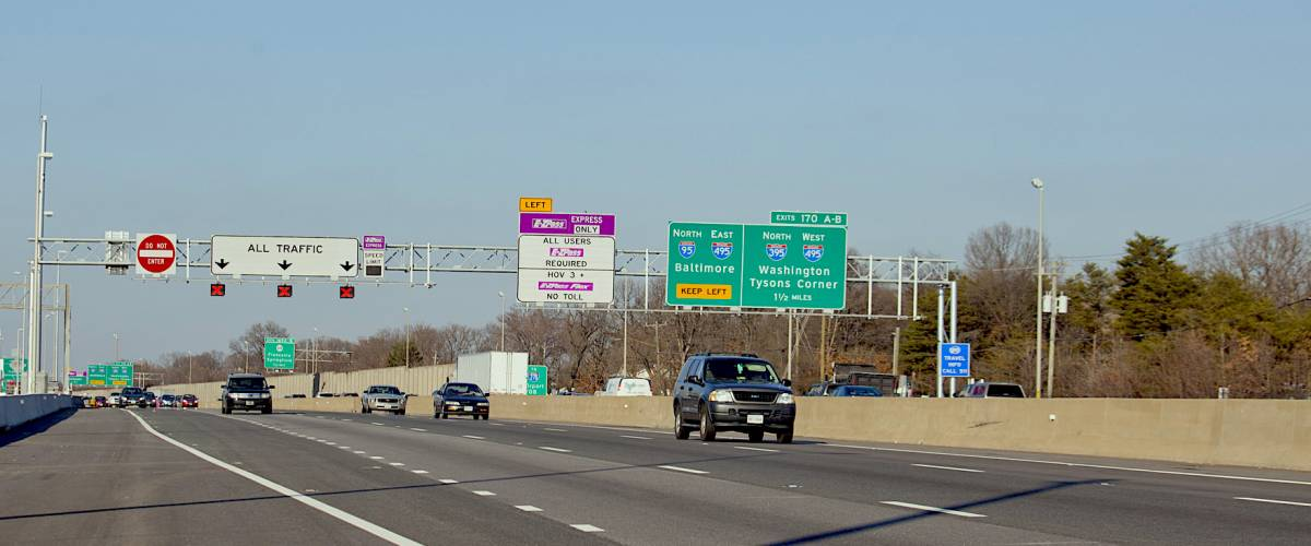 I-95 Express Lanes open to all in Prince William Fairfax and Stafford Counties