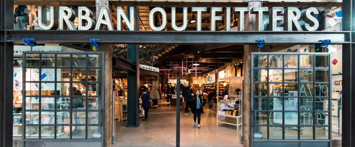An Urban Outfitters store in London, UK