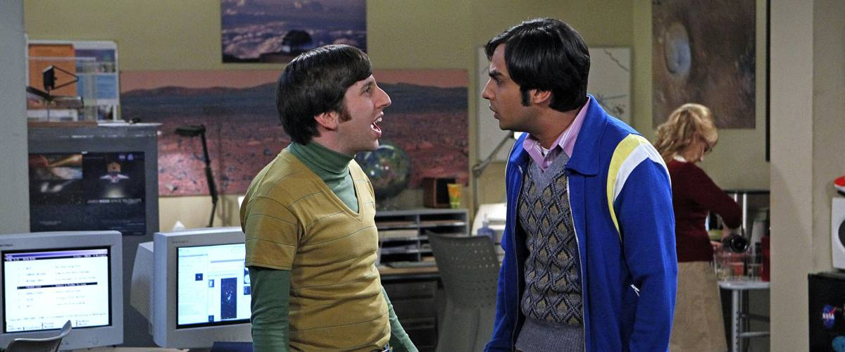 Simon Helberg as Howard Wolowitz on the Big Bang Theory