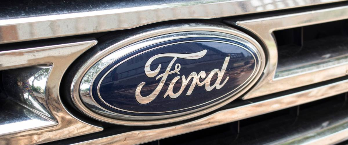 Bangkok, Thailand - March 15, 2018: Ford logo.