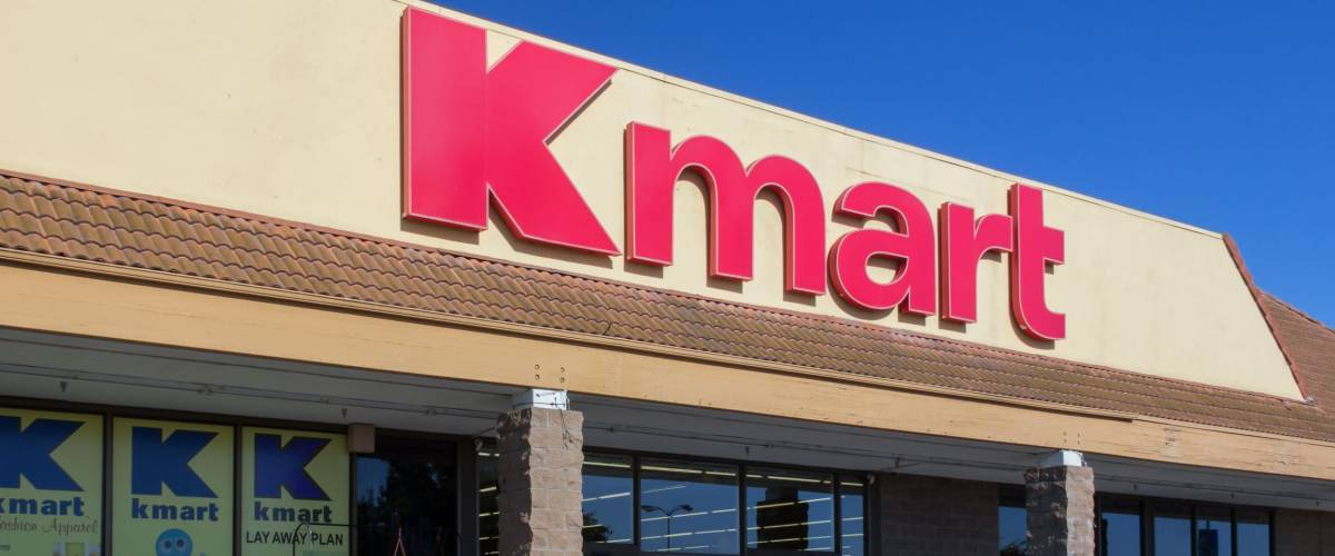 SALINAS, CA/USA - APRIL 23, 2014: Kmart retail store exterior. Kmart is an American chain of discount department stores headquartered in the United States.
