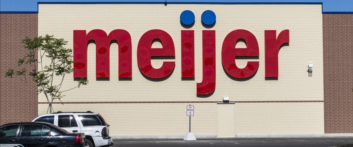 Indianapolis - Circa June 2017: Meijer Retail Location. Meijer is a large supercenter type retailer with over 200 locations I