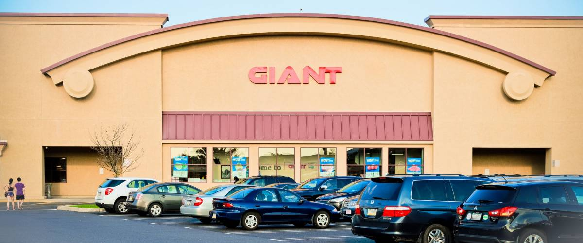 Philadelphia, Pennsylvania - Aug 16, 2017: Giant store