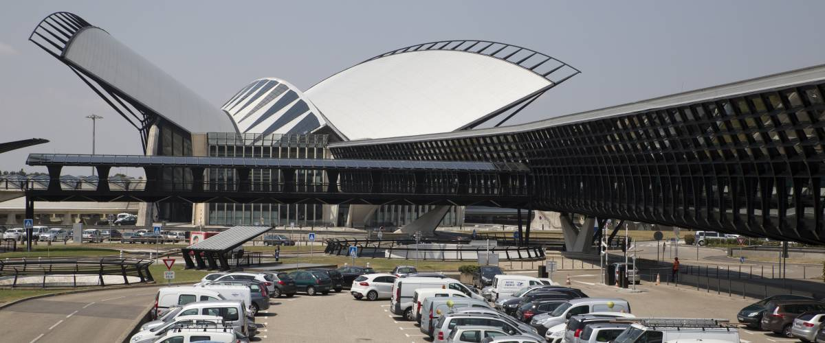 New train station at Lyon Saint-Exupery Airport