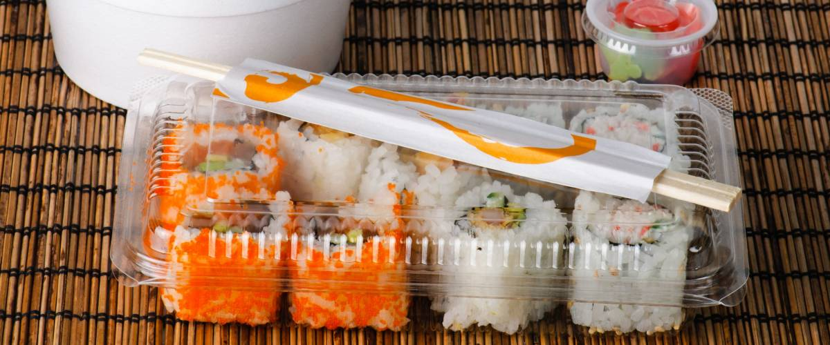 As if sushi wasn't expensive enough, you'll pay more for the container, too
