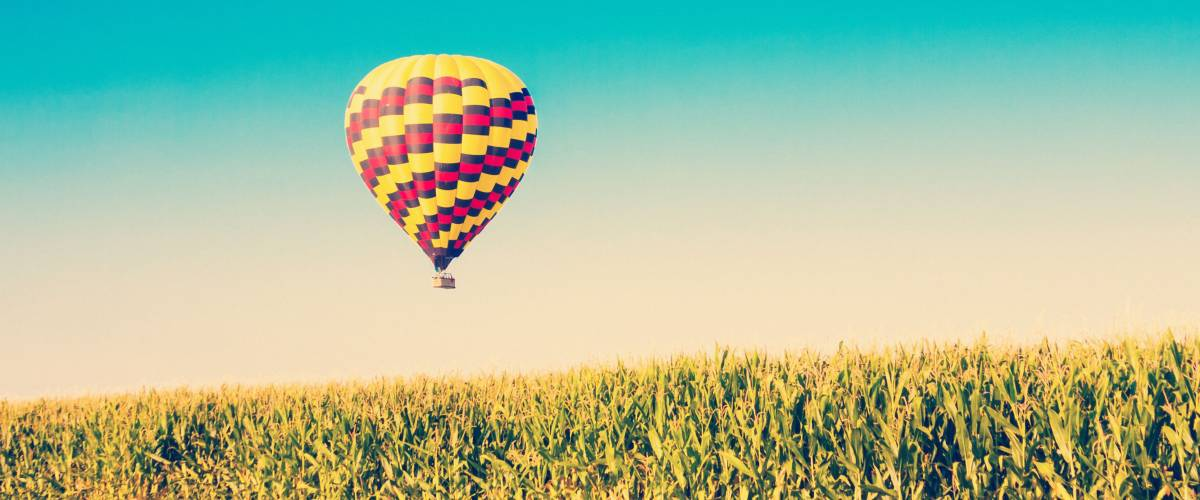 Hot air balloon rides are tax-free if you're airborne