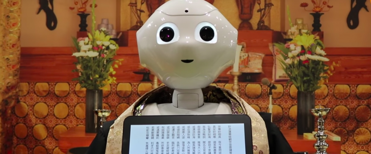 Pepper delivers Buddhist sutras during funerals