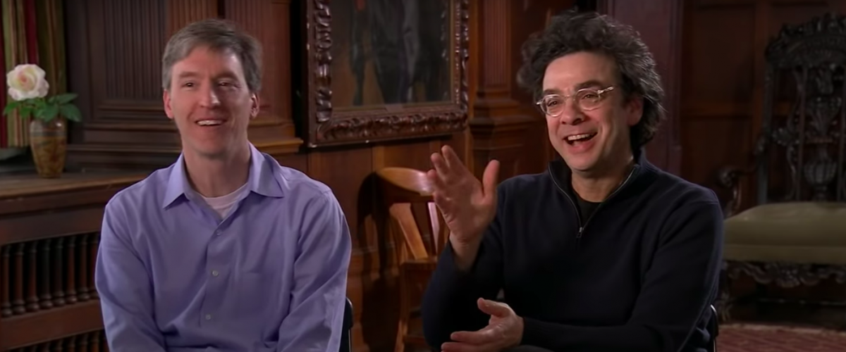 Stephen Dubner and Steven Levitt, authors of the best-selling book