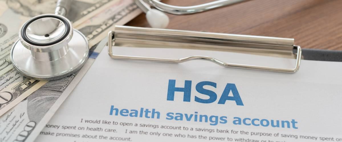 health savings account concept