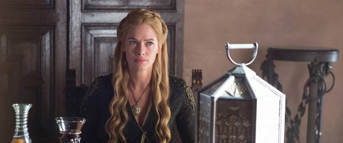 Lena Headey as Cersei Lannister in 'Game of Thrones' Season 5, Episode 2.