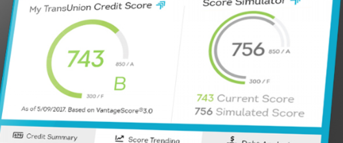 TransUnion credit check image