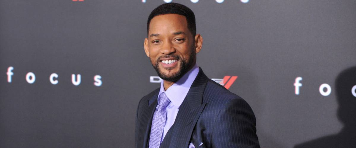 Will Smith close-up