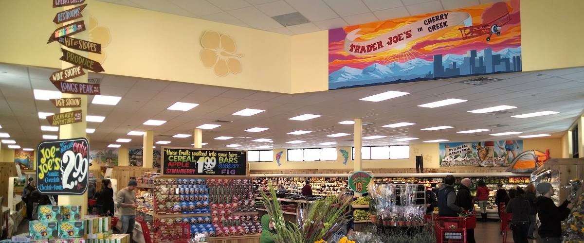 Inside a beachy TJ's