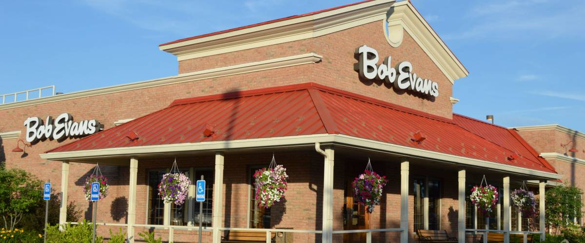 Columbus,OH - July 24, 2017: Bob Evans  restaurant has over 500 locations in 18 states.