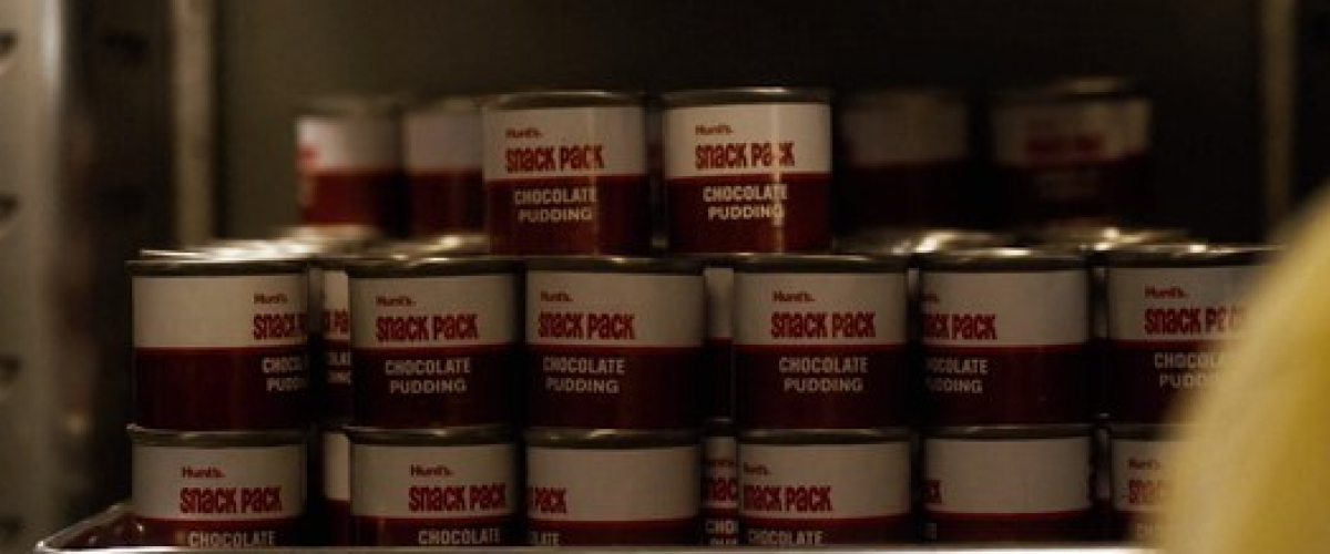 Hunt's pudding in a can