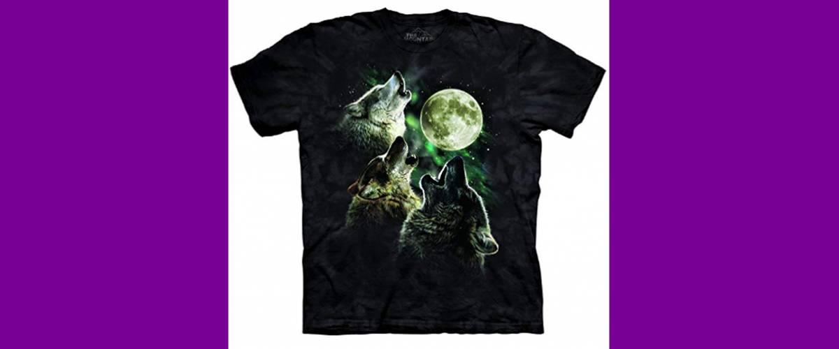 Three Wolf Moon Short Sleeve Tee