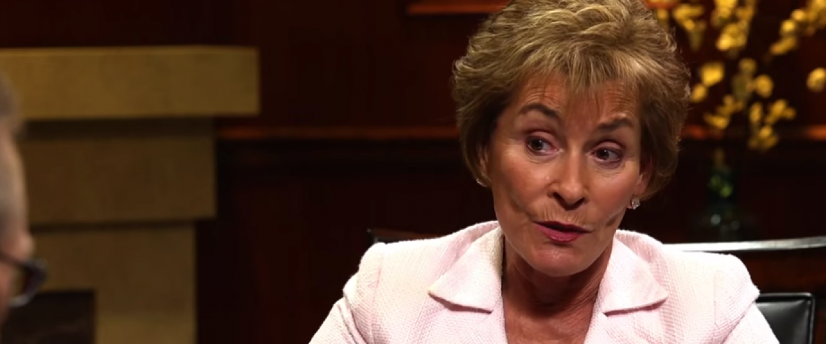 Judge Judy on Larry King