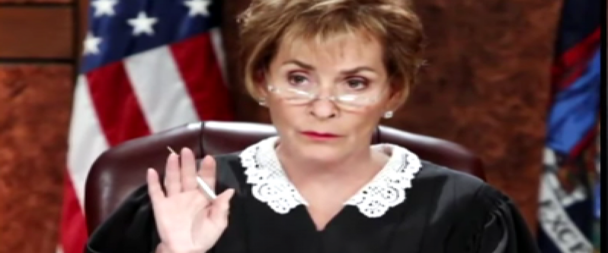 Judge Judy portrait
