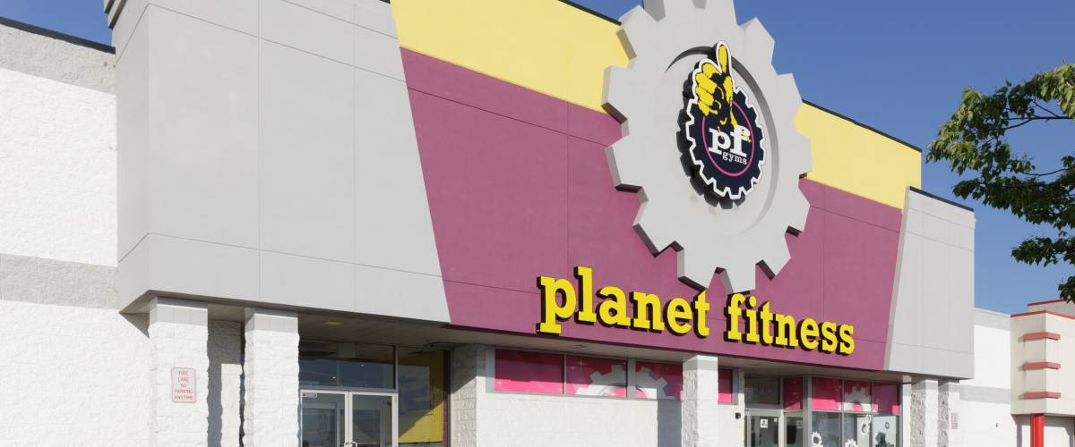 A Planet Fitness gym