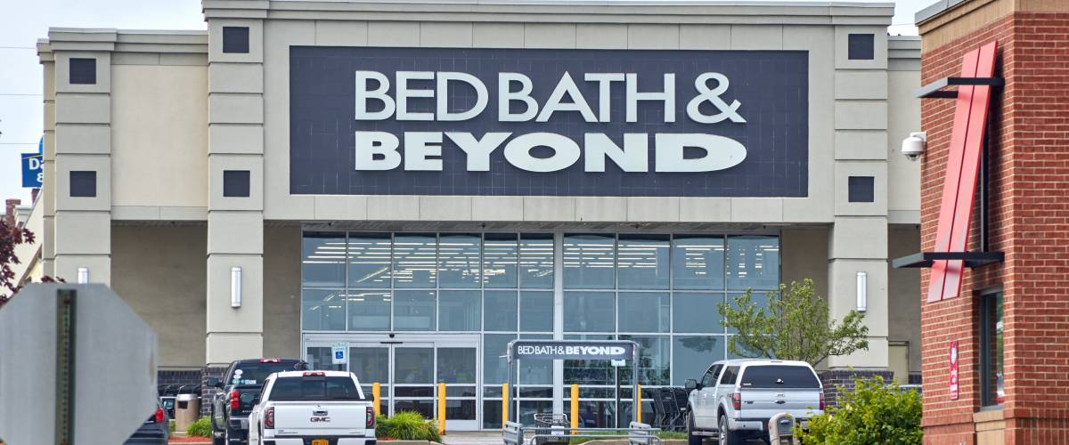 A Bed Bath & Beyond store in Plattsburgh, N.Y,