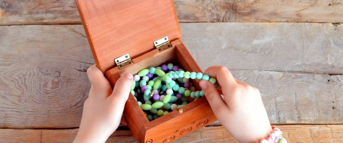 Kid's jewelry box