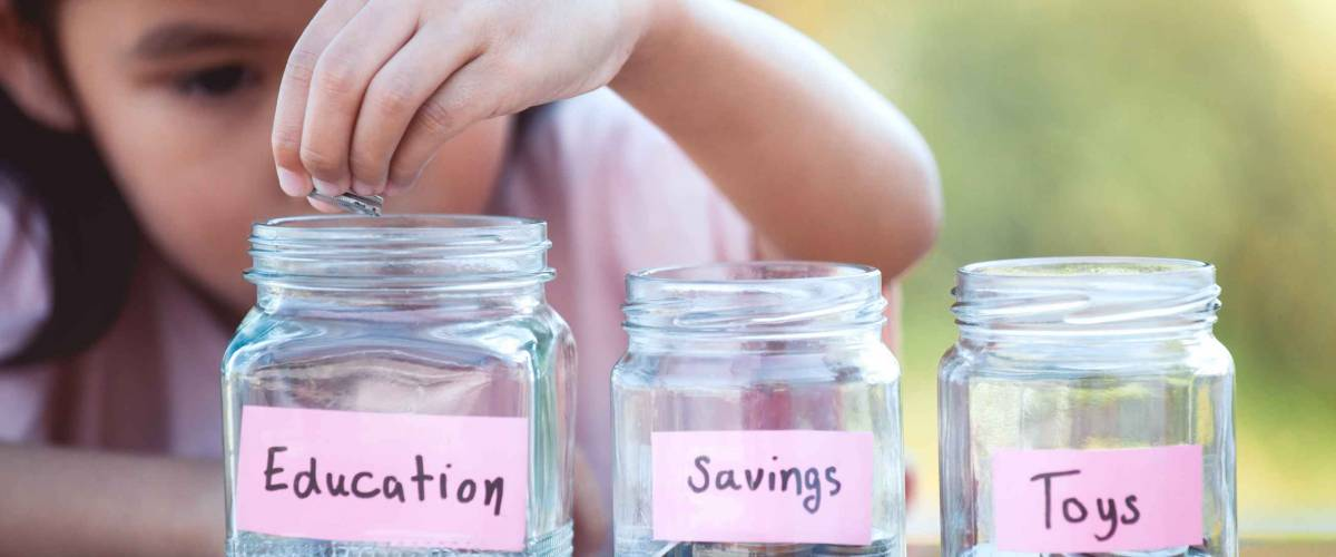 Teach your kid about saving and investing at the same time