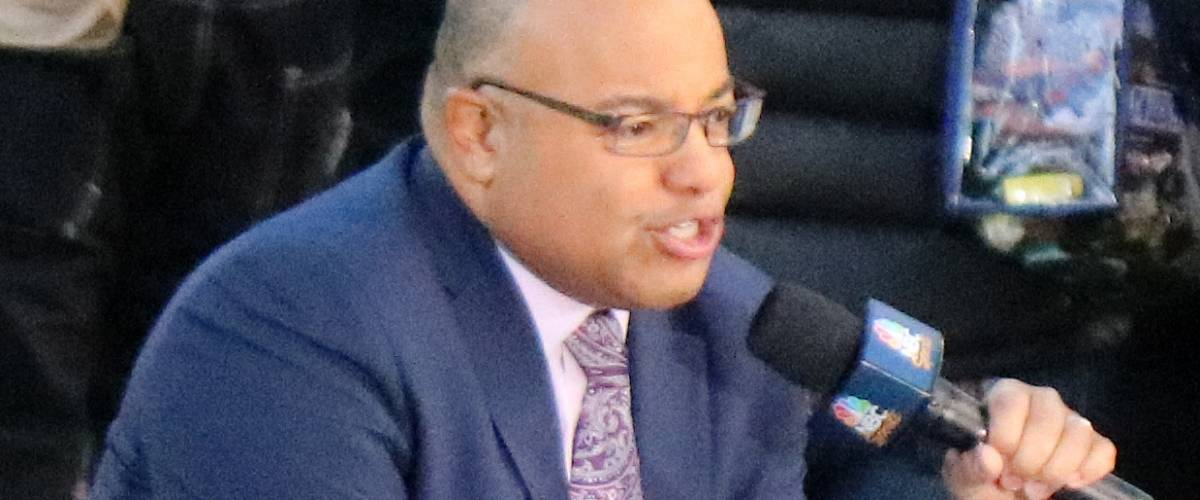 Mike Tirico, an American sportscaster