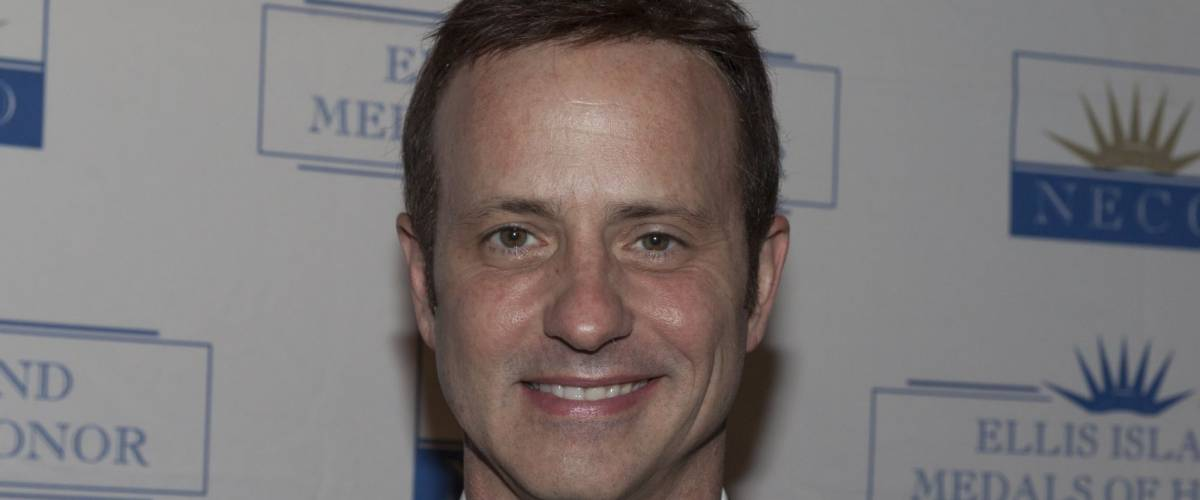 NEW YORK - MAY 11: Brian Boitano attends a reception for the 2013 Ellis Island Medals of Honor at Ritz Carlton Battery Park on May 11, 2013 in New York City.