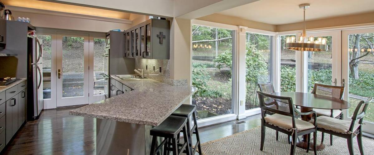 Kitchen of the Tennessee home being sold by Keith Urban and Nicole Kidman