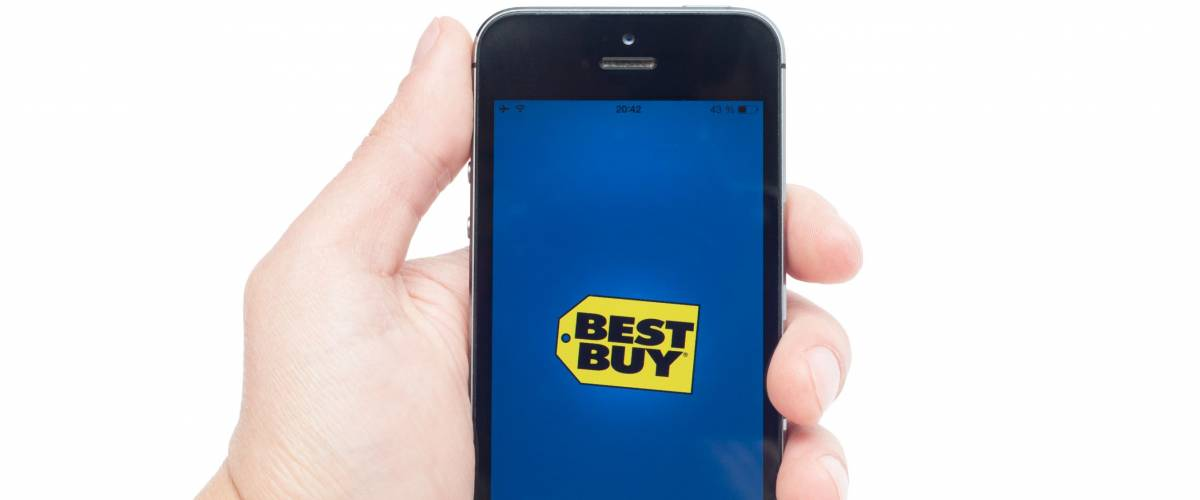 Pavlograd, Ukraine - October 31, 2014: Best Buy is the world�¢??s largest multi-channel consumer electronics retailer with stores in the U.S., Canada, China and Mexico.