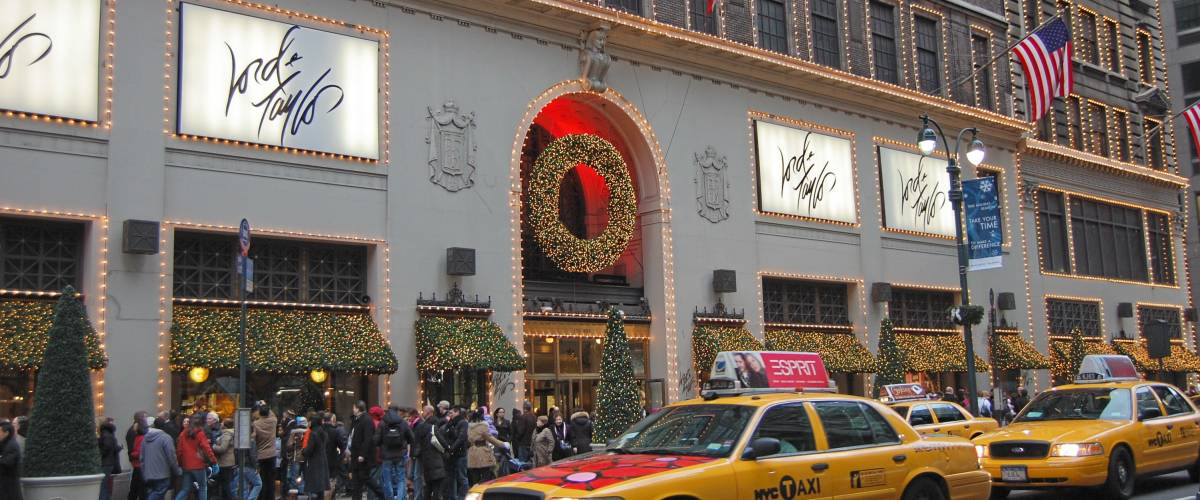 Lord & Taylor's flagship store on Fifth Ave. in New York City