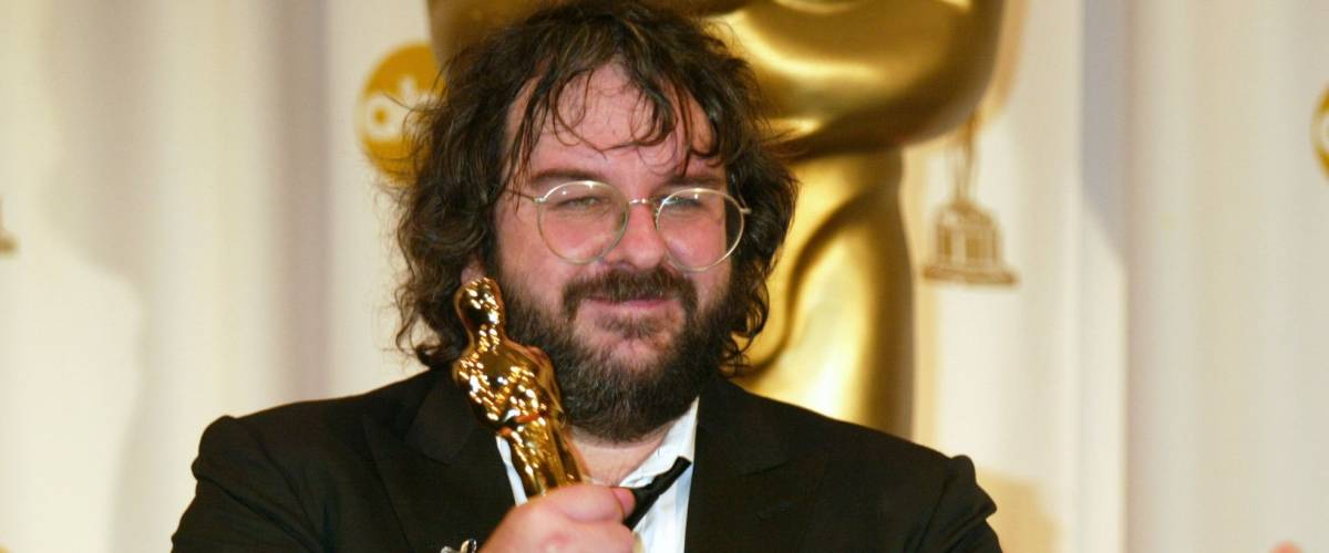 PETER JACKSON at the 76th Annual Academy Awards in Hollywood. February 29, 2004