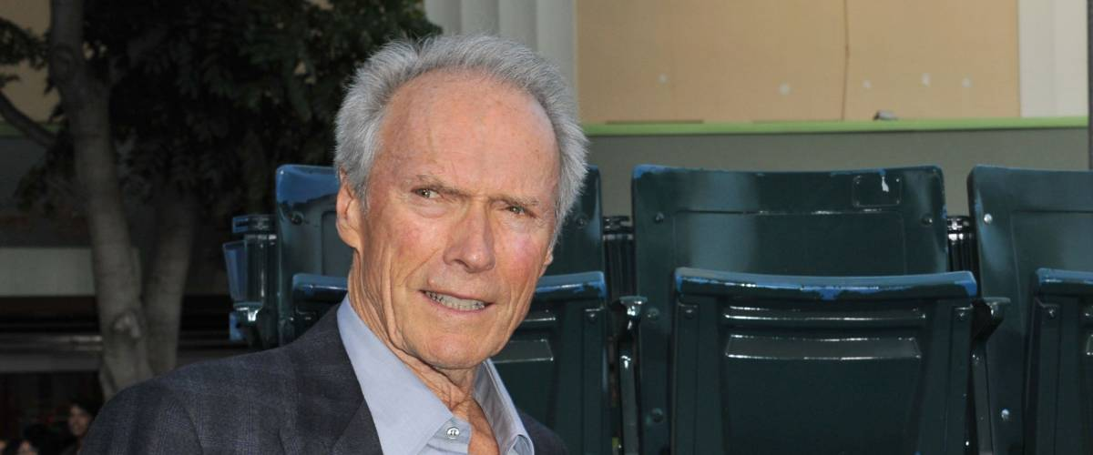 Clint Eastwood at the premiere of his movie