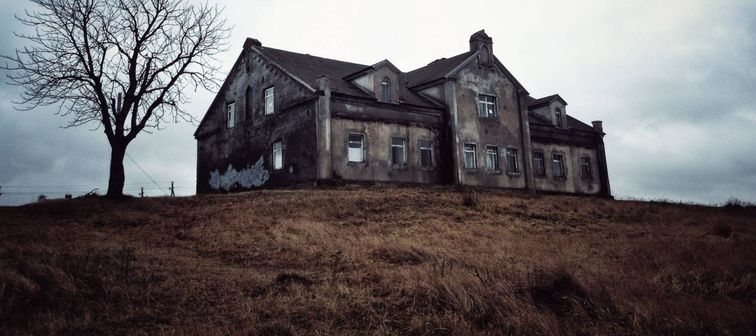 A haunted house in Belarus