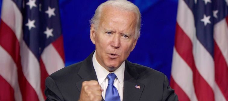 Joe Biden during the Democratic National Convention in Milwaukee, USA - 20 Aug 2020