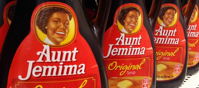 Aunt Jemima maple syrup