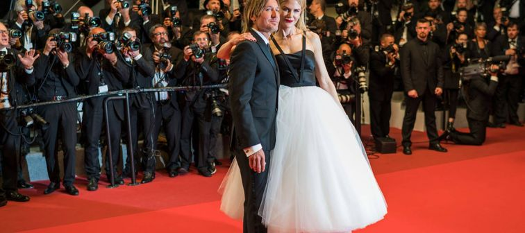 CANNES, FRANCE - MAY 22, 2017: Nicole Kidman and Keith Urban attend 'The Killing Of A Sacred Deer' premiere during the 70th annual Cannes Film Festival