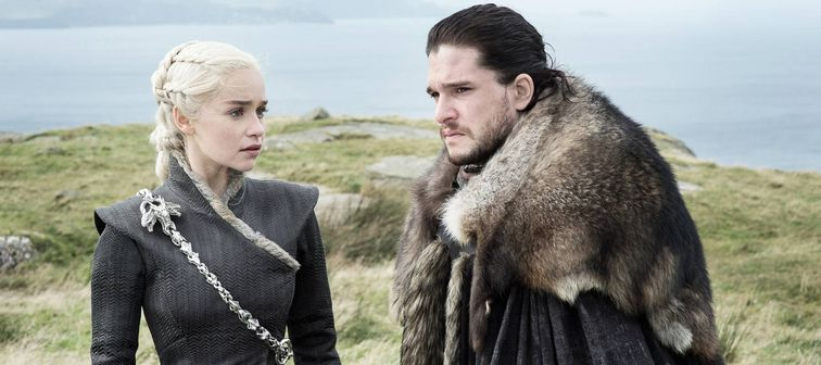 Game of Thrones Episode 65 (season 7, episode 5), debut 8/13/17: Emilia Clarke, Kit Harington.
